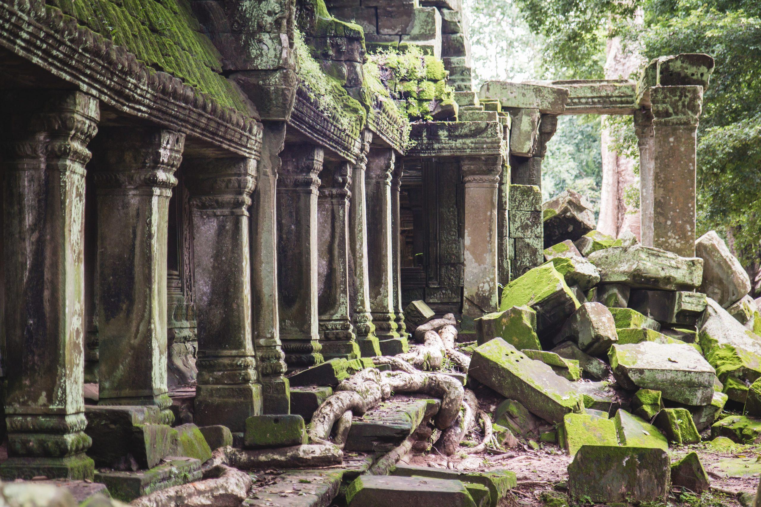 ruines, nature, worldbuilding